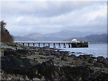 NS1981 : Blairmore Pier by Marty