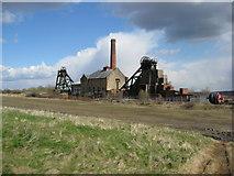 SK4964 : Pleasley Colliery Buildings by Alan Heardman