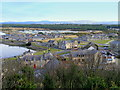 NJ2370 : Lossiemouth from Prospect Terrace by Ann Harrison