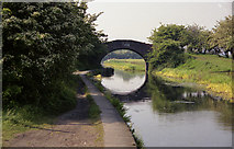 SD7908 : Rothwell Bridge, Manchester, Bolton and Bury Canal by Dr Neil Clifton