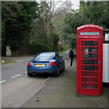 J3267 : Red Telephone Box, Ballylesson by Rossographer