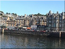 NM8529 : Oban waterfront viewed from station by John Firth