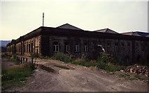 SE1839 : Esholt Sewage Works, the press house by Chris Allen