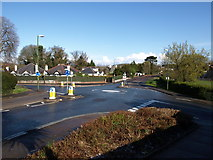 SX9065 : Junction, Cricketfield Road and Barton Road by Derek Harper