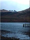 NN2505 : The Cobbler Peeping From Behind Monadh Liath by Lynn M Reid