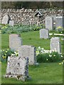 NY1700 : Gravestones, St Catherine's Church by Callum Black