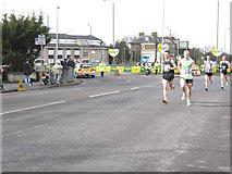 TQ4077 : London Marathon at Shooters Hill - men by Stephen Craven