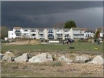 SZ1892 : Mudeford: harbourside apartments by Chris Downer
