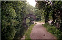 SE0424 : High Royd Bridge 3, Rochdale Canal by Dr Neil Clifton
