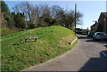 SY9287 : Town walls, east, Wareham by N Chadwick
