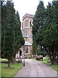 SO8480 : St. Peter's Cookley. by Annette Randle