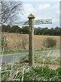 TF7921 : Peddars Way sign by Keith Evans