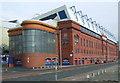 NS5564 : Ibrox Stadium by Thomas Nugent
