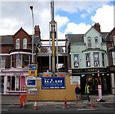 J3271 : Construction, Lisburn Road, Belfast by Rossographer