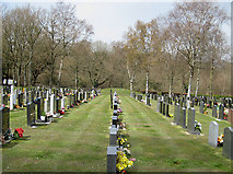 SO5812 : Mile End Cemetery, Forest of Dean by Pauline E