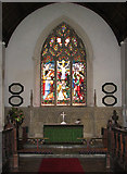 TG1022 : St Mary's church - chancel by Evelyn Simak