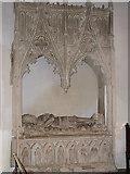 TG1022 : St Mary's church - Kerdiston tomb by Evelyn Simak