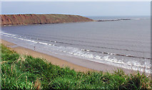 TA1281 : Filey Sands and the Brigg by Peter Church