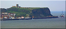 TA0489 : Scarborough Castle by Peter Church