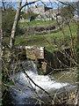 SO6693 : Weir on the Mor Brook by Row17
