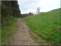 SK2468 : Footpath from Calton Houses to Calton Pastures by Alan Heardman