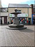 SH4862 : Fountain on Pool Street, Caernarfon by Eirian Evans