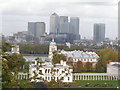 TQ3877 : National Maritime Museum from the Royal Greenwich Observatory by N Chadwick