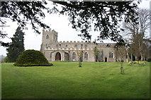 TL4538 : Chrishall Church by Duncan Grey