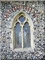 TG4426 : Window, St John's Church, Waxham by Maigheach-gheal