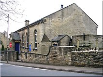 SE1525 : Moravian Sunday School - Lower Wyke Lane, Wyke by Betty Longbottom