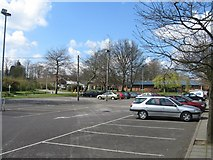 SU6351 : Student car park  - Queen Mary's College by Sandy B