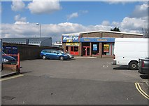 SU6351 : Kwik-Fit Southern Road by Sandy B