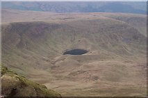 SO0022 : View from summit of Pen y Fan looking WNW by Andy Phillips