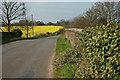 SJ5511 : Over the bridge & onto Upton Magna by Row17