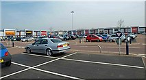 SD6409 : Middlebrook Retail Park by Steve  Fareham