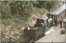 SH6441 : Tan-Y-Bwlch Station Festiniog Railway by John Firth