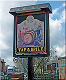 TA2609 : The Sign of the Tap & Spile by David Wright