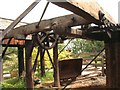 NY5526 : Derelict machinery at Wetheriggs Pottery by Jeff Tomlinson