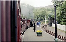 SH6441 : Tan Y Bwlch Station by John Firth