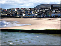SC2484 : Peel beach and seafront by Chris Gunns