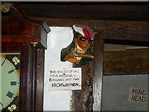 ST7693 : Ram Inn interior, Potter's Pond, Wotton under Edge by Brian Robert Marshall