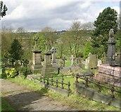 SE1226 : St John's Churchyard - Coley Road by Betty Longbottom