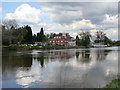 SK5938 : River Trent by Kate Jewell