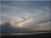 SH5631 : Harlech beach by Peter Humphreys