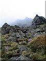SH7054 : Daear Ddu ridge by Peter Aylmer
