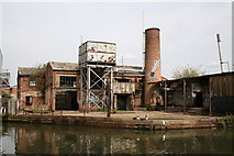 TQ1883 : Derelict industrial buildings by Dr Neil Clifton