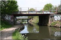 TQ2182 : Railway bridge, Paddington Arm by Dr Neil Clifton