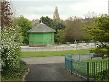 SK5640 : Nottingham Arboretum, the bandstand by Alan Murray-Rust