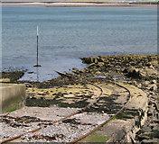 J5182 : Tracks into Ballyholme Bay by Rossographer