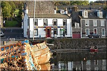 NS0767 : On the seafront at Port Bannatyne: A hotel housing The Russian Tavern by Dag Crawford